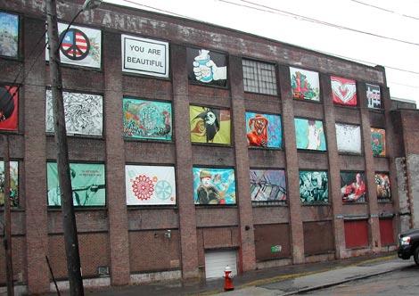 Electric Windows exhibition in Beacon, NY