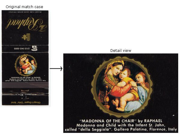 Madonna of the chair, by Raphael
