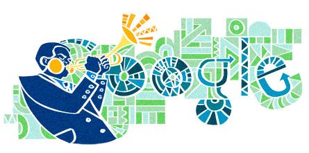 Dizzy Gillespie Google Doodle