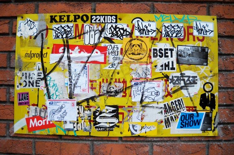Sticker Art Graffiti in NYC – The Artsology Blog