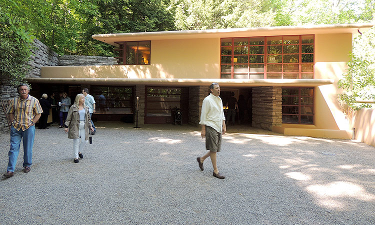The Story Behind The Carport At Fallingwater The