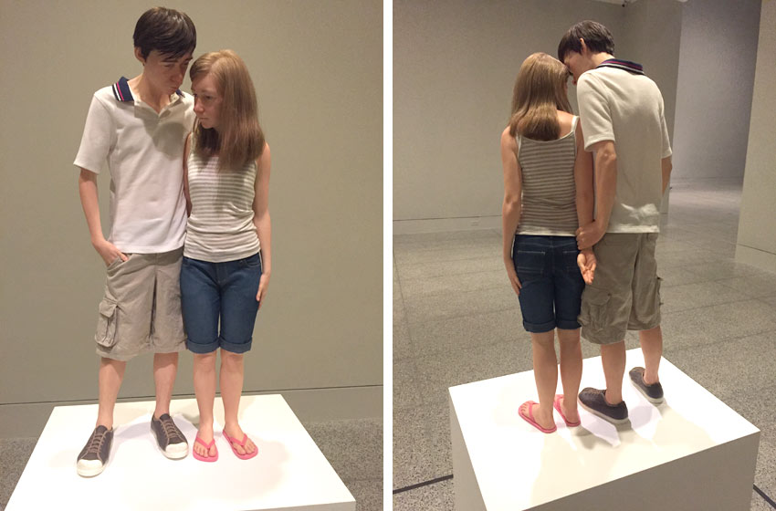 dispatch from houston ron mueck at the museum of fine arts houston