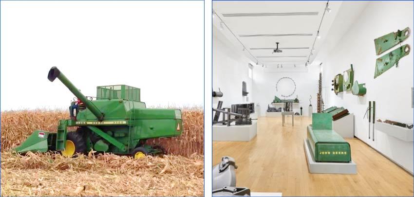 John Deere 3300 Series Harvester