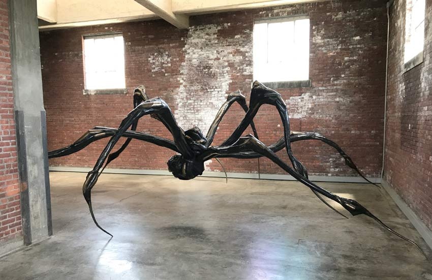 Crouching Spider by Louise Bourgeois