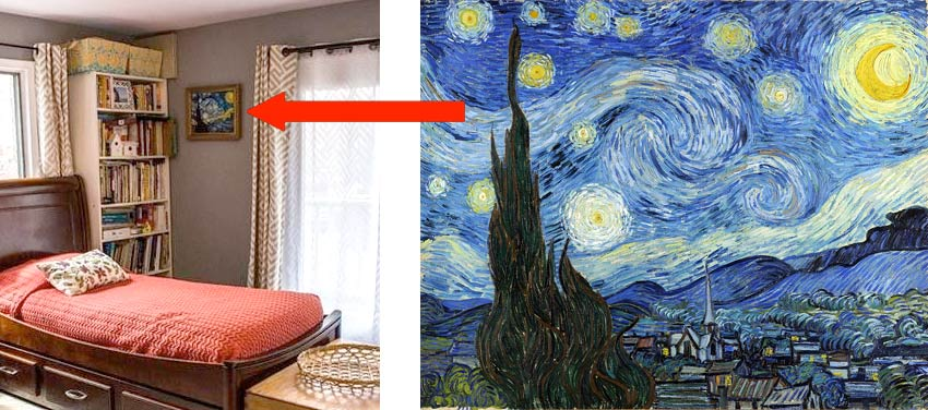 Van Gogh Starry Night copy