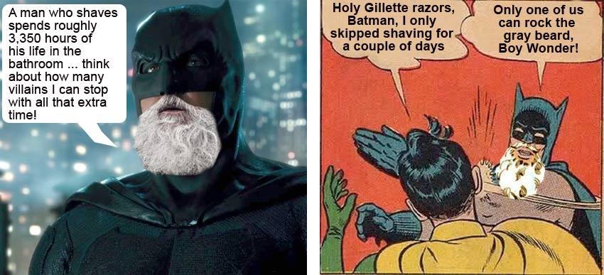 imagine if Batman had a beard