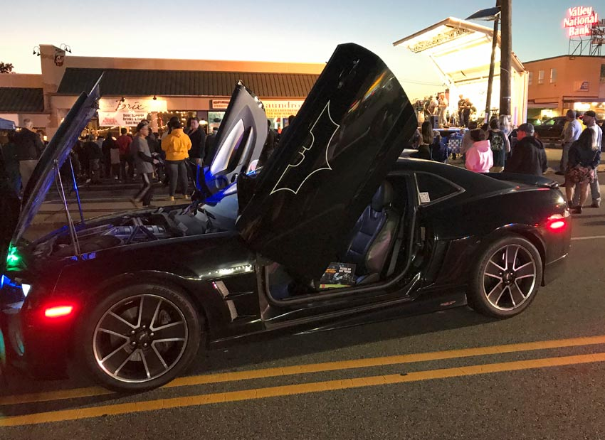 the batmobile belonging to the New Jersey Batman
