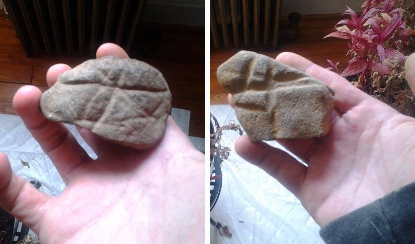 found abrading rock art