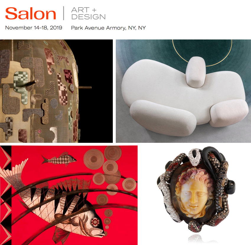 Salon Art + Design 2019 at the Armory in NYC
