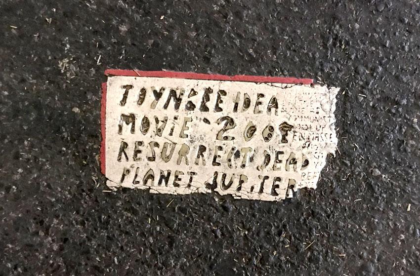 Toynbee tile in Manhattan
