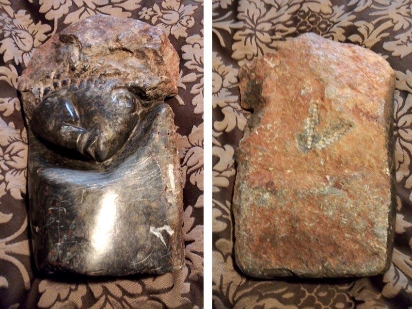 carved rock art found in Oxnard, CA