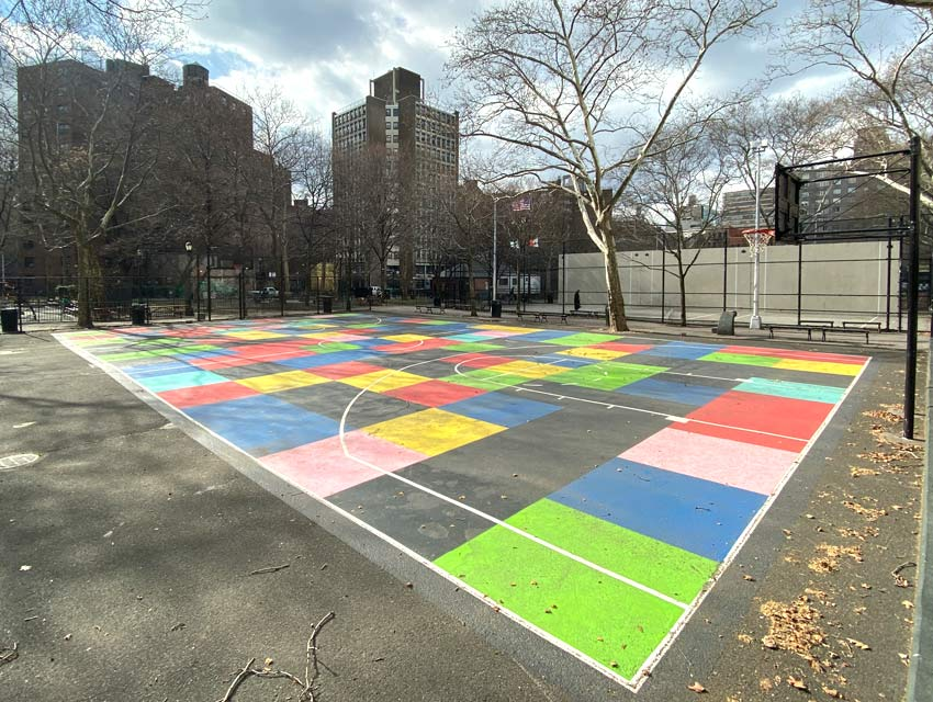 Robert Otto Epstein basketball court