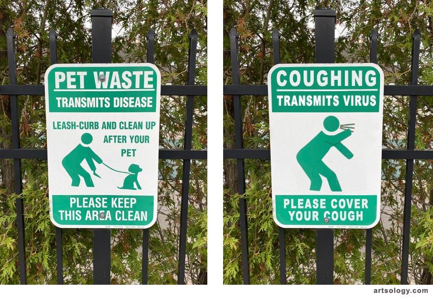 COVID-19 public health signs 2