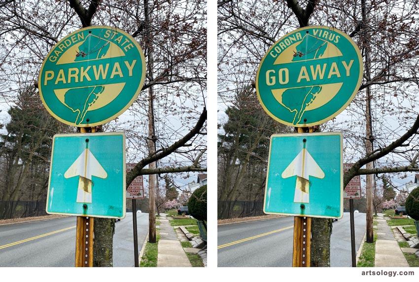 COVID-19 public health signs 4