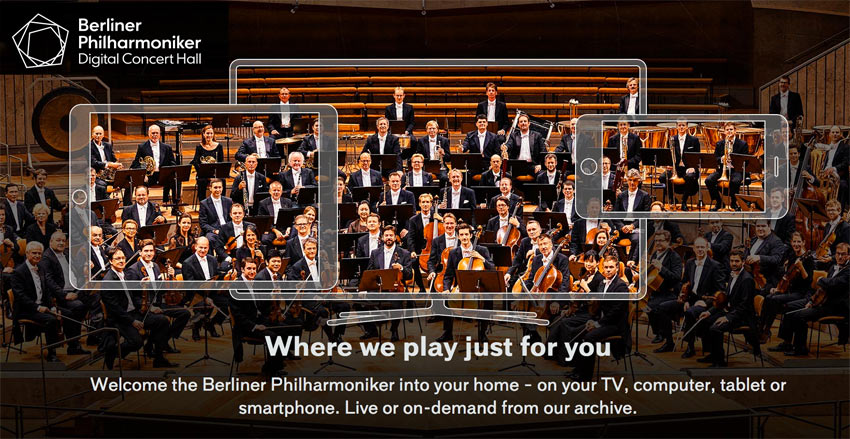 Berliner Philharmoniker free streaming concerts