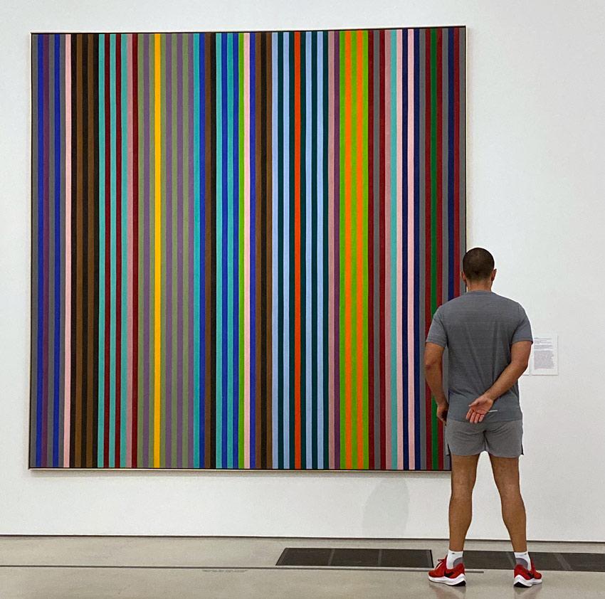 Gene Davis painting Perez Art Museum Miami