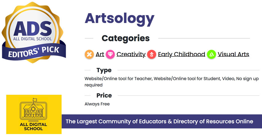 Artsology - All Digital School Editors' Pick