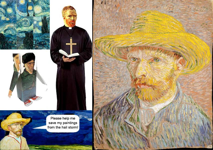Van Gogh materials found on Artsology