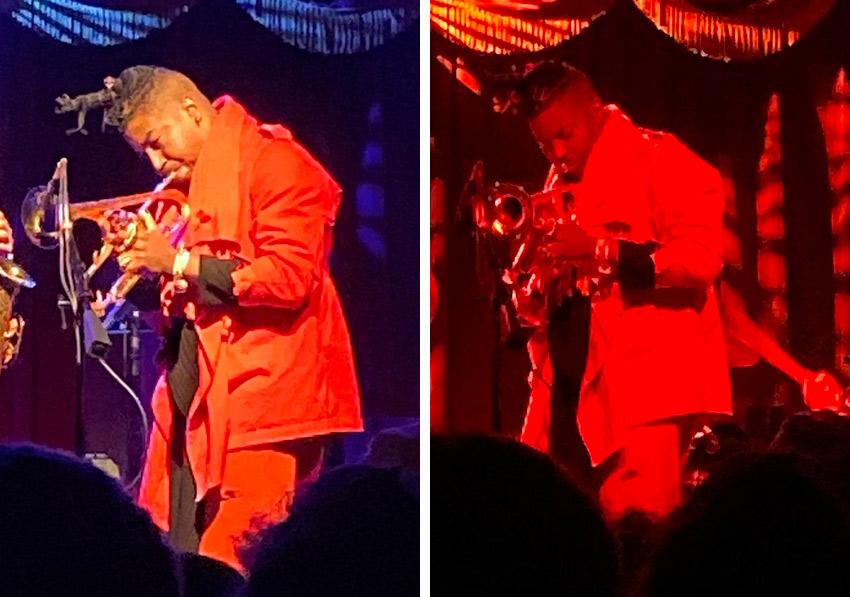 Christian Scott aTunde Adjuah in concert in Brooklyn