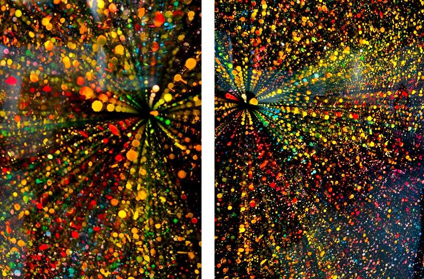 Ivan Navarro LED light art work details
