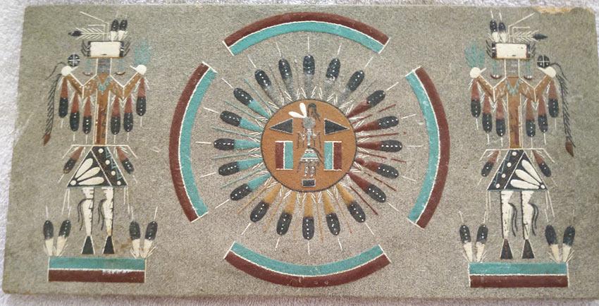 navajo sand painting art
