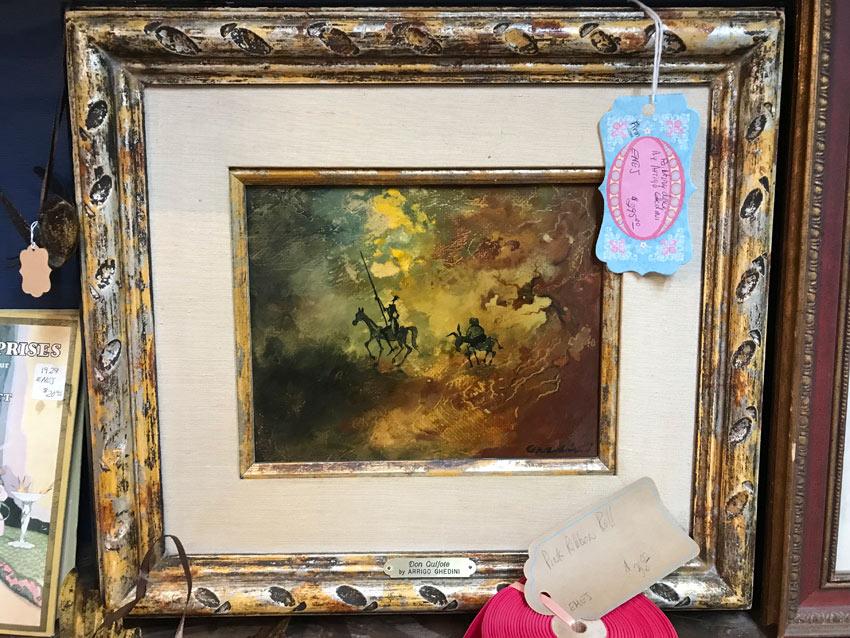 Don Quixote painting by Arrigo Ghedini