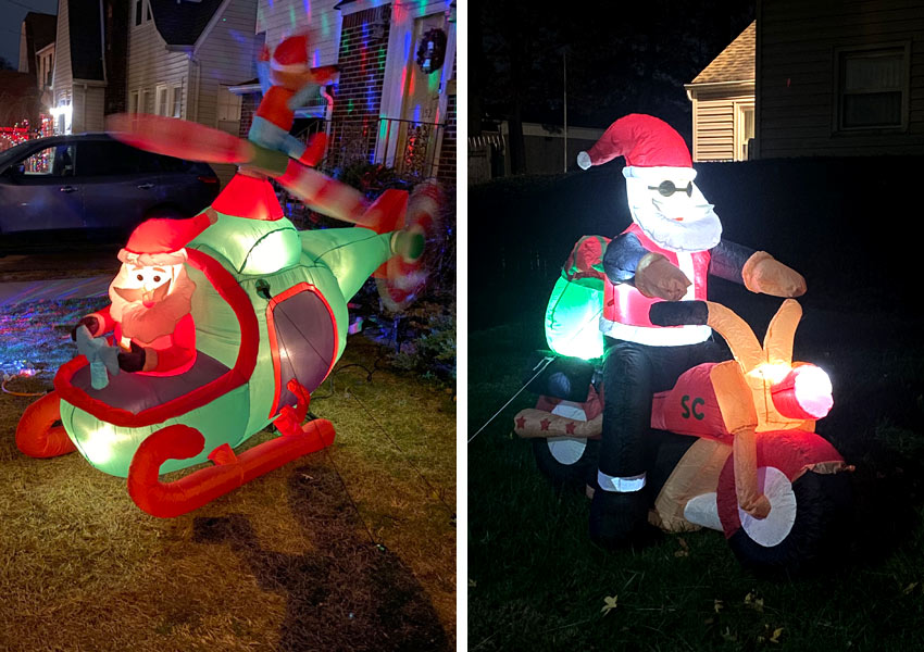 Santa Claus inflatables in Belleville NJ