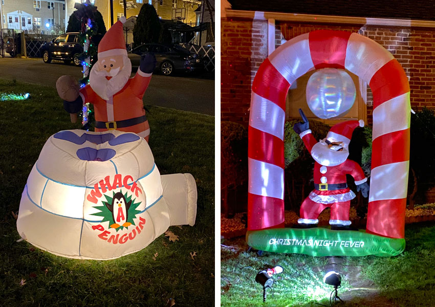 Santa Claus unusual inflatables in Belleville, NJ
