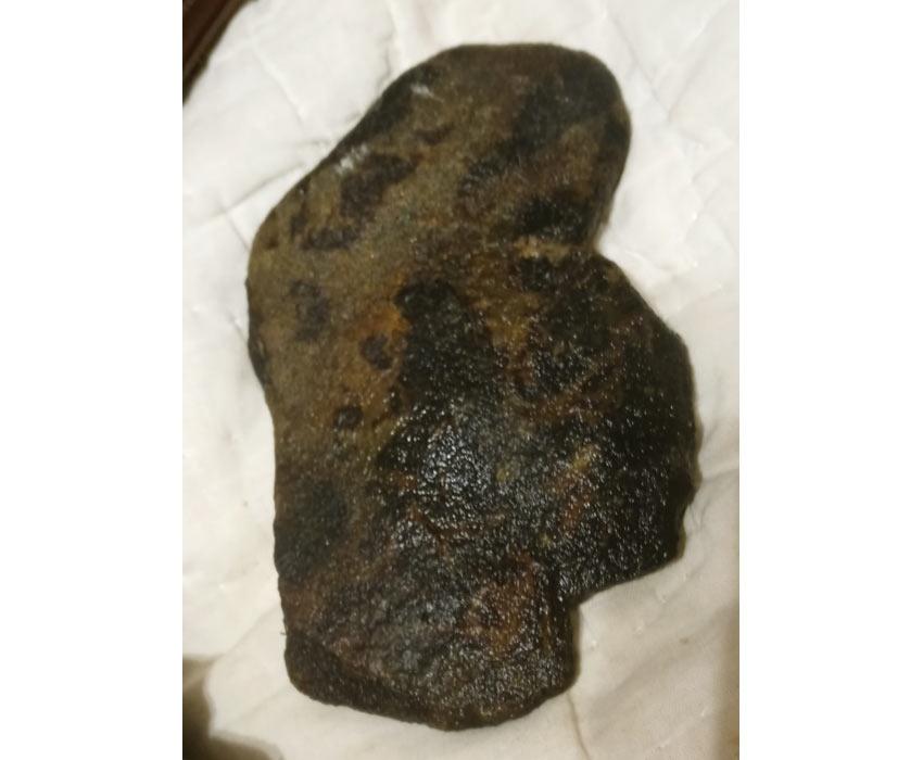 face effigy found in Broad River in Georgia