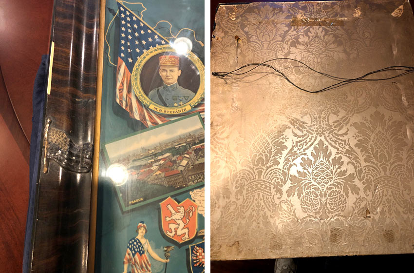 WWI historical object related to the formation of Czechoslovakia