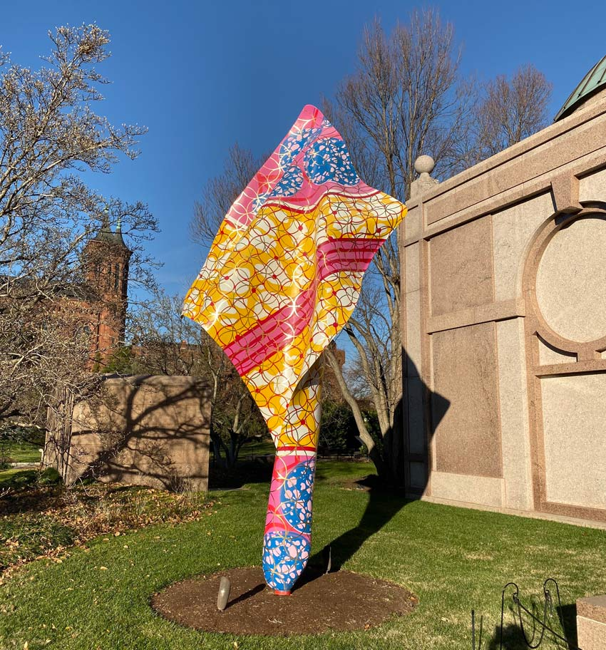 Yinka Shonibare Wind Sculpture at the Smithsonian National Museum of African Art